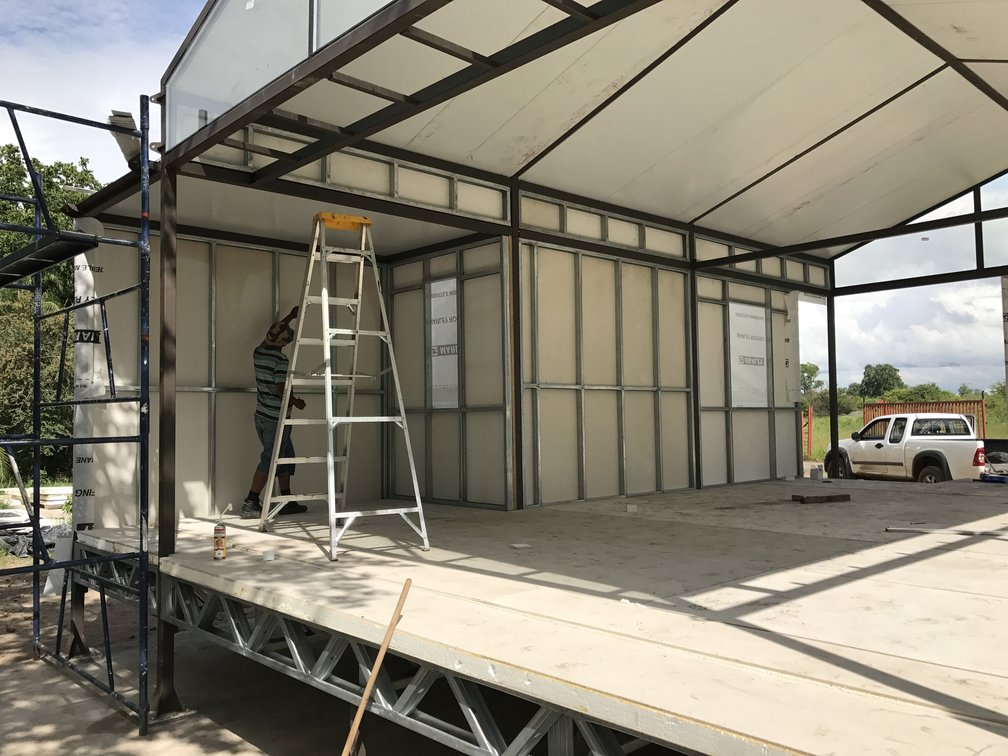 Light weight walls and panels