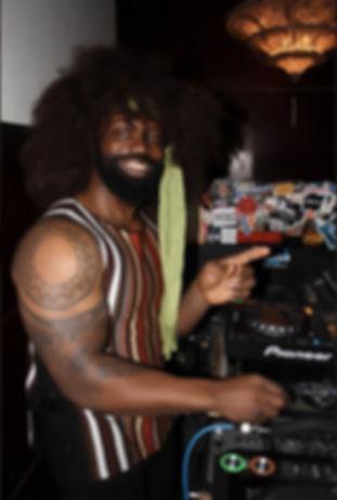 DJ Trevor Fox working 70's party