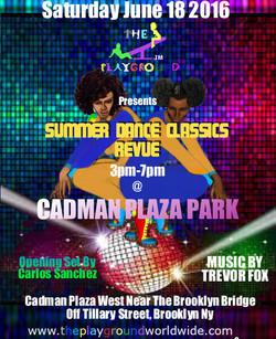 The Playground Summer Dance Revue