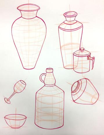 Tiffany Clinton Bottles