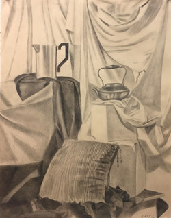 Drawing 1 Student Work Charcoal