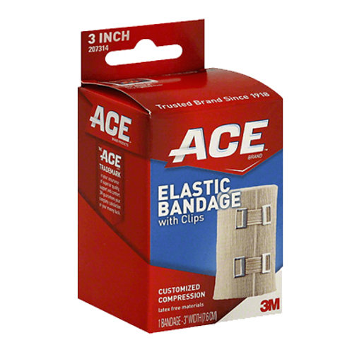 Ace Bandage with Clips