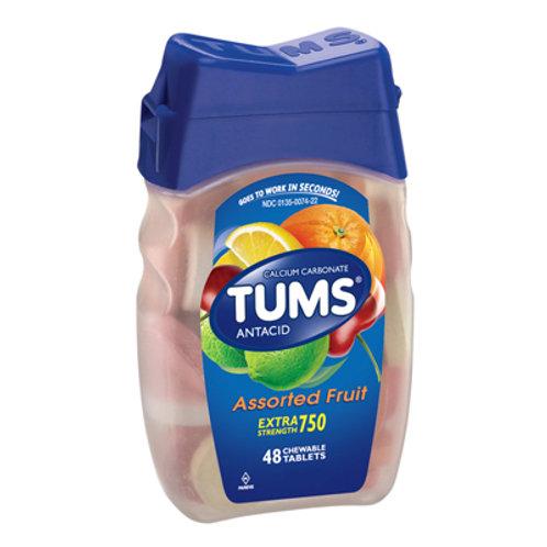 Tums Antacid, Assorted Fruit