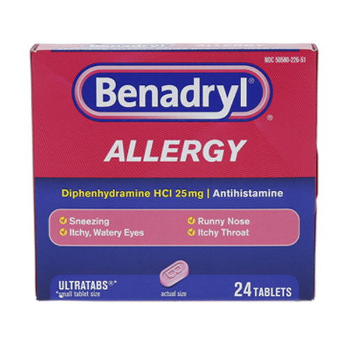 Benadryl Ultra Allergy Tablets