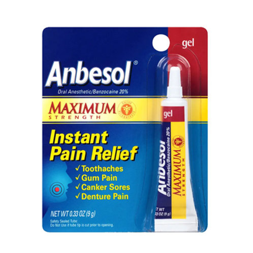 Anbesol Pain Relief Gel