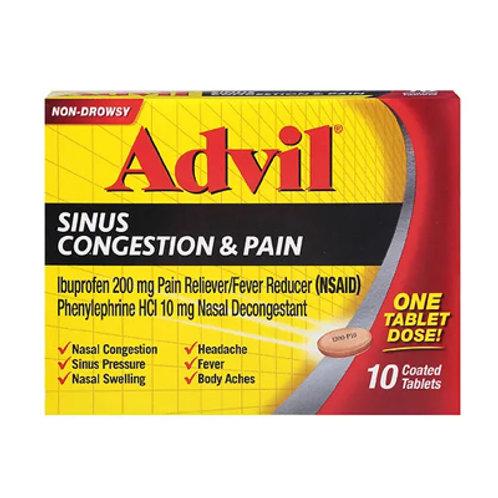 Advil Sinus Congestion & Pain