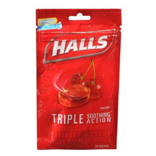 Halls Cherry Drops