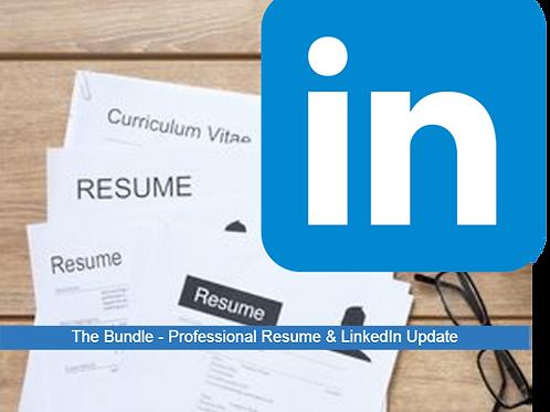 GOLD PACKAGE    Resume & LinkedIn Update