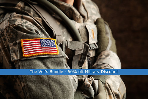 THE VETS BUNDLE   Resume, LinkedIn, Cover Letter