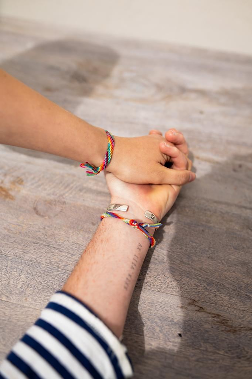 A Pair of Limited Edition Handmade Friendship Bracelets by LostFoundKeep (1🌲)