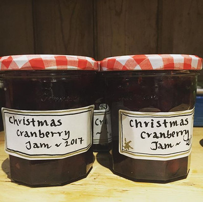 Christmas jam making