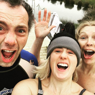 Winter wild swimming!