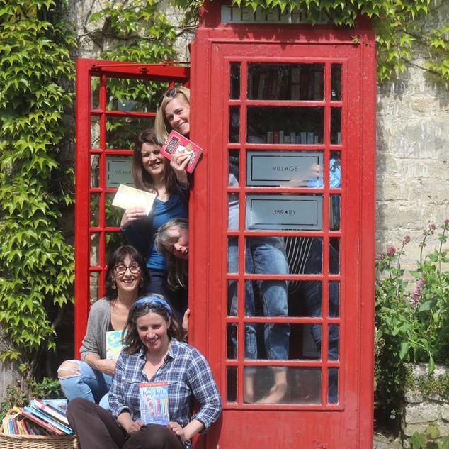 Me and fellow Bradford on Avon Mini Book Festival authors