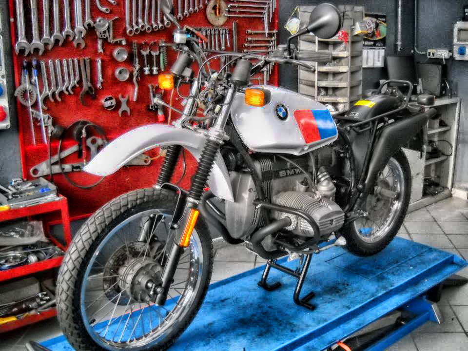 Restauro per moto d'epoca