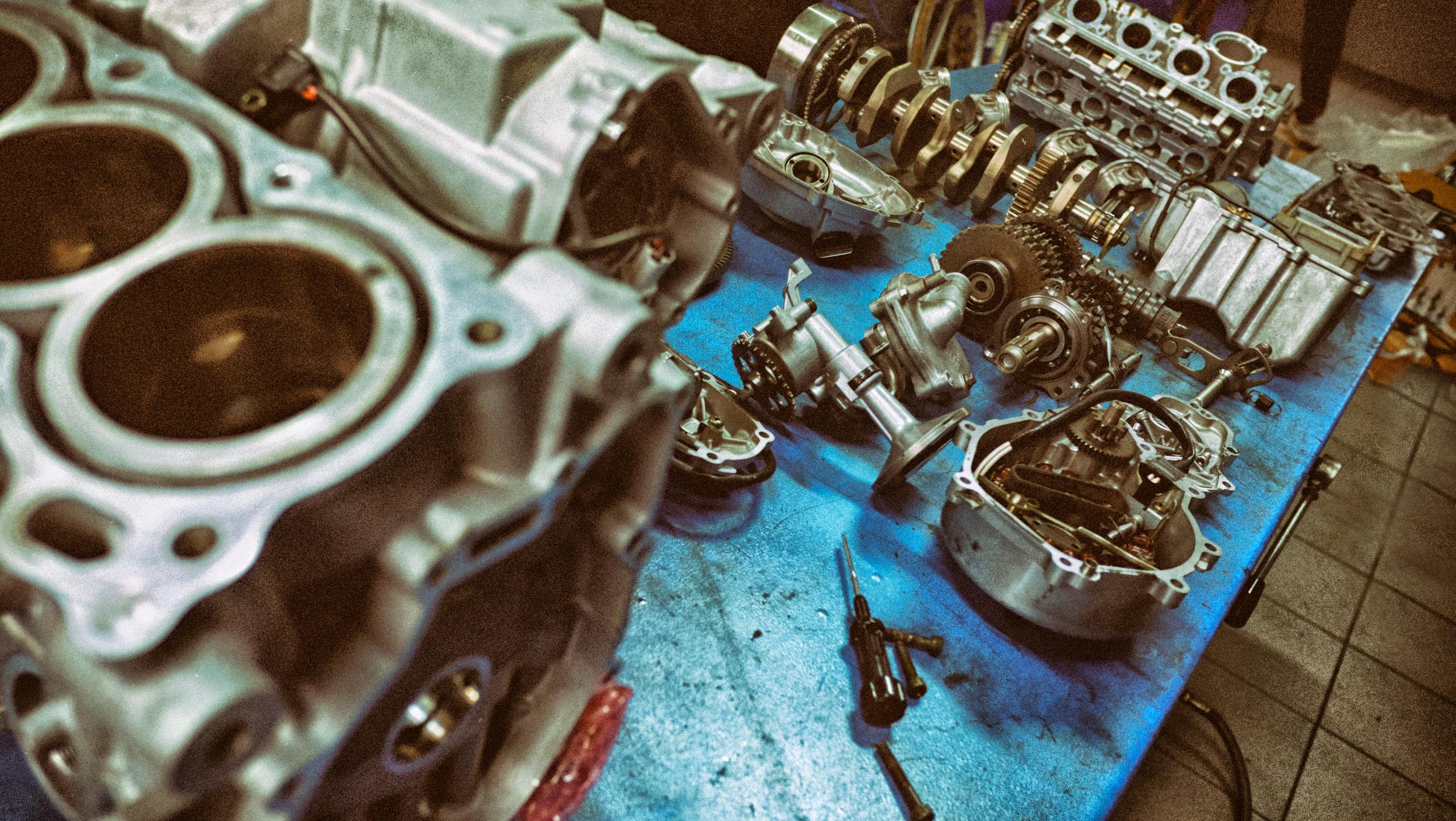 Riassemblamento motore