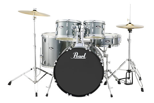PEARL RS525SC ROADSHOW 5-PC. DRUM SET W/HARDWARE & CYMBALS