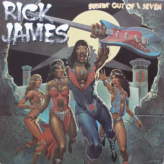 43. Rick James - Bustin' Out of L Seven.