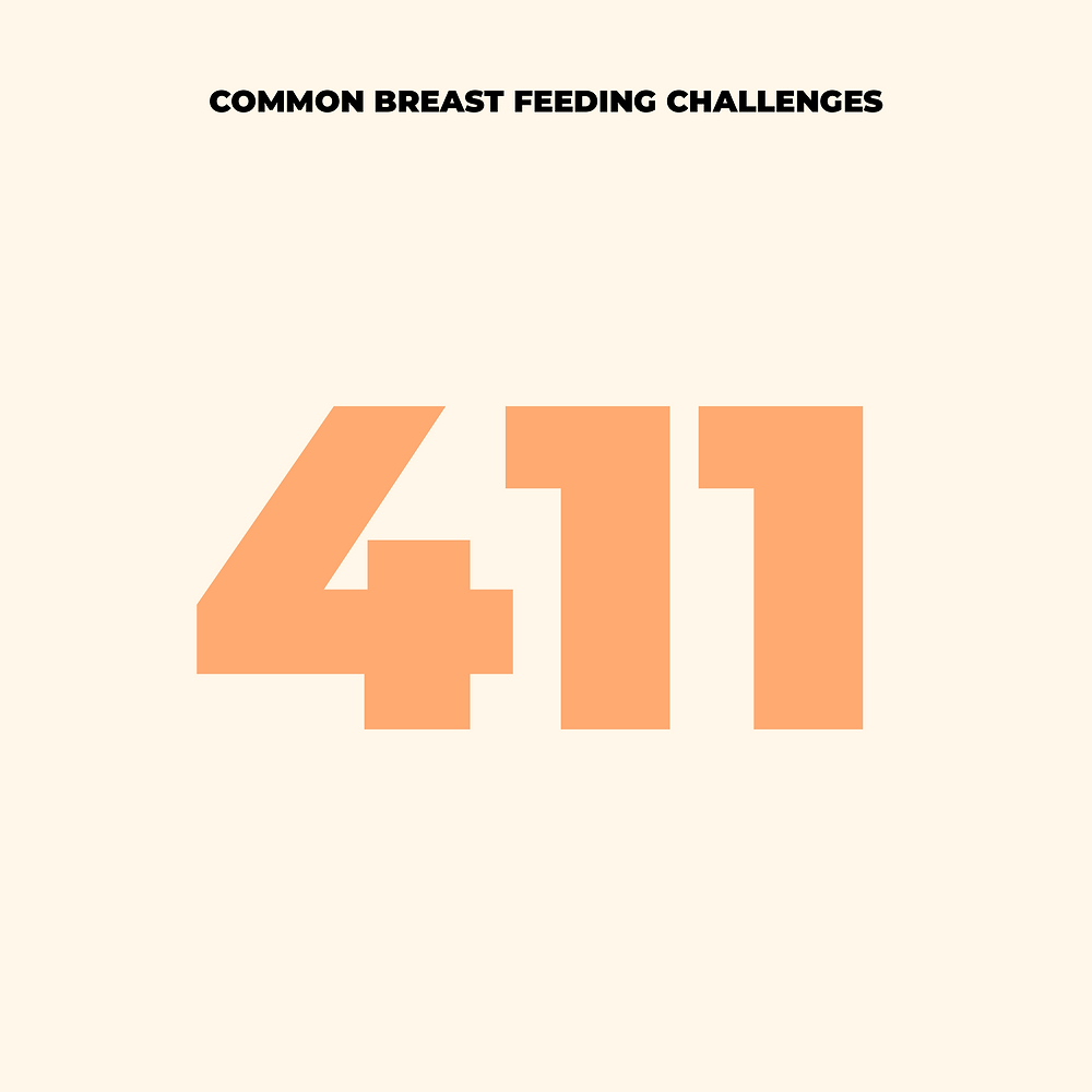 Breastfeeding challeneges and treatments