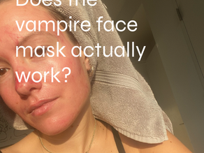 "Does the ""vampire"" face mask actually work?"