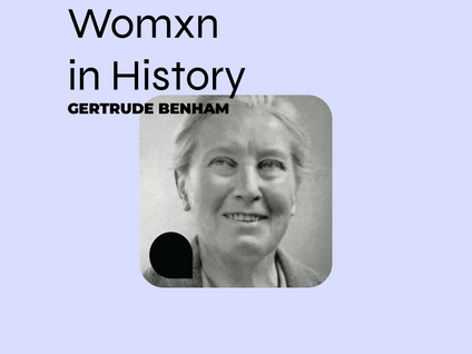 NTK: Gertrude Benham