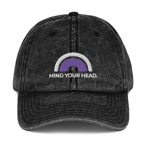 Mind Your Head Rainbow Cap