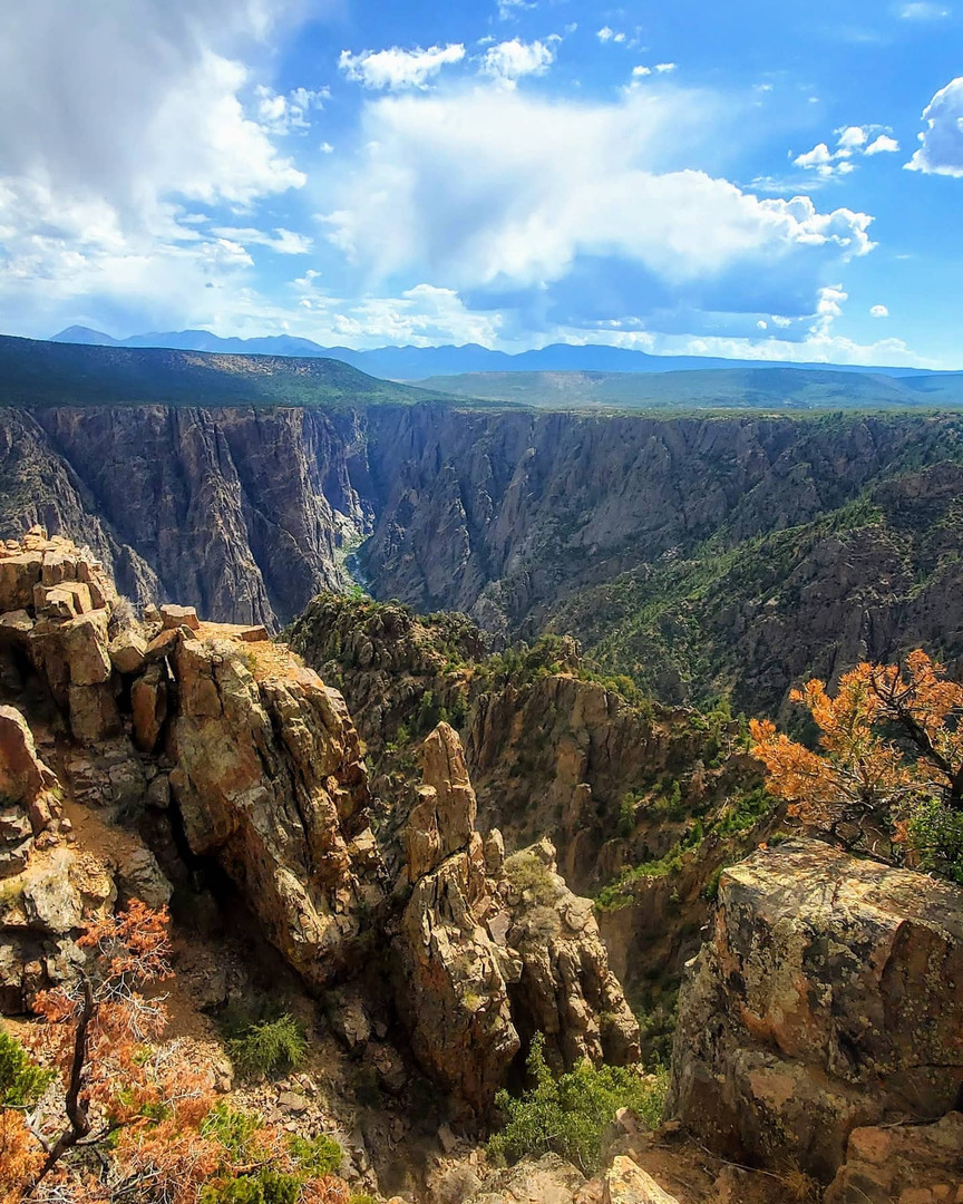 Blue Skies over the Canyon