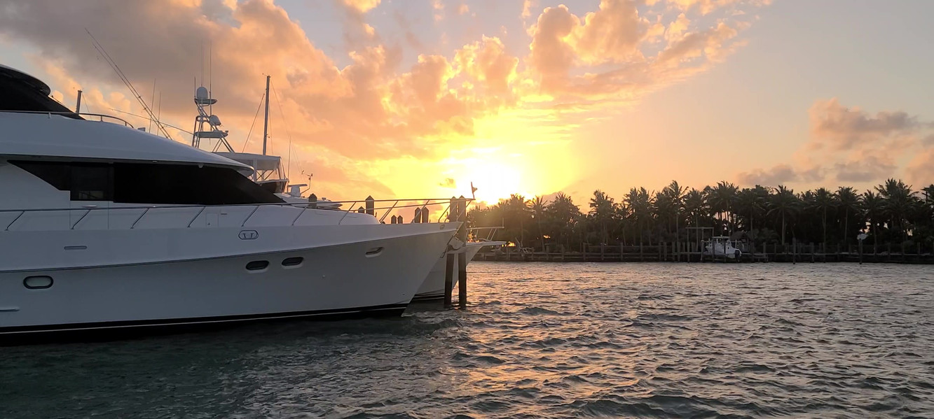 Sunset on Marathon in the Keys