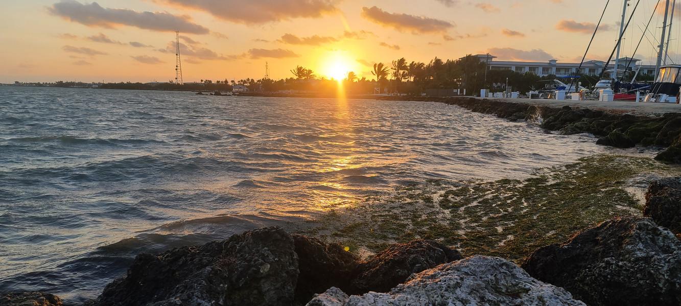 Sunrise in the Keys