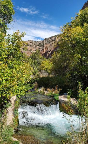 Jones Hole Creek Falls