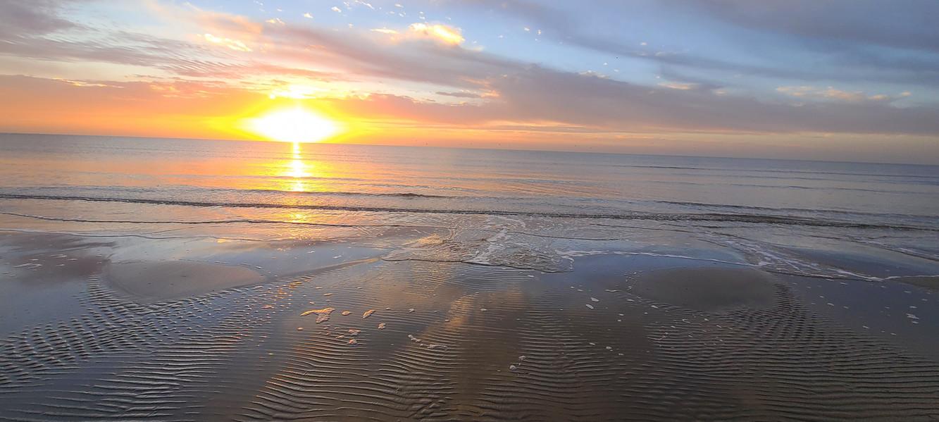 Sunrise on the Texas Gulf