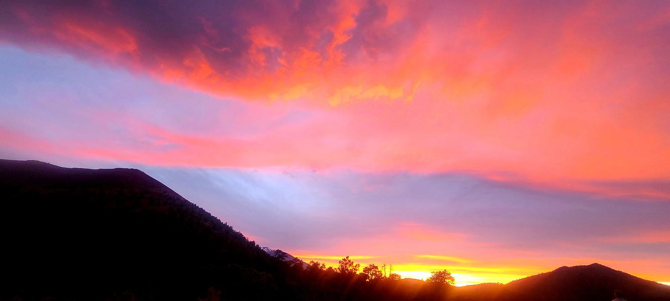 Sunset on Flagstaff Arizona