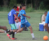 Jorge Narvaez kicks the ball.JPG