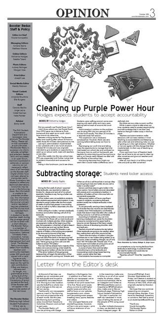 Vol. 101 Issue 1 — Oct. 30, 2018
