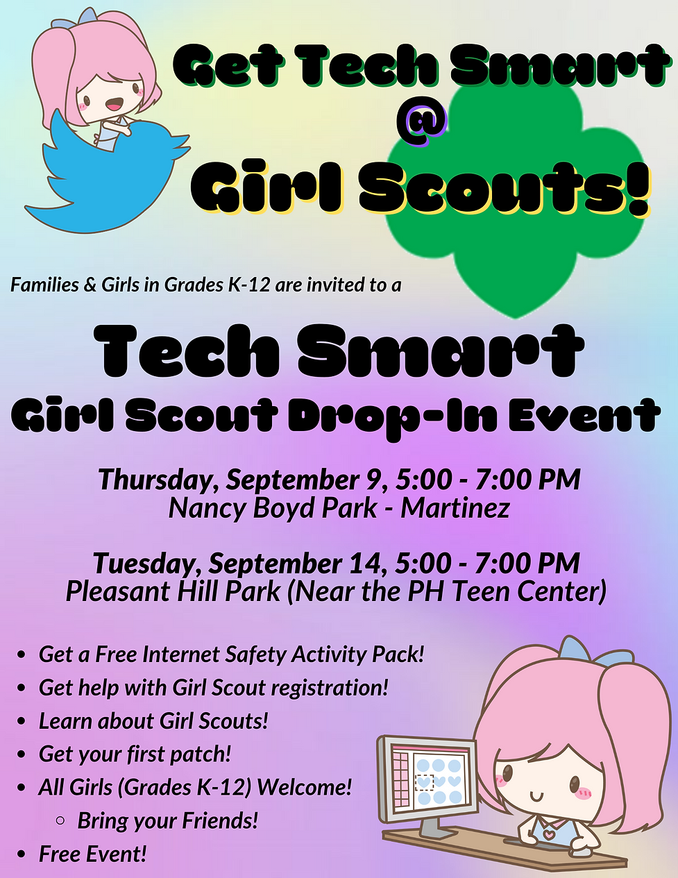 Girl Scout Tech Smart Event Flyer IMage.png