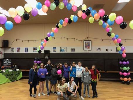 Creekside Older Girl Scouts Rock Autumn Activities!