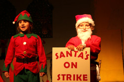 St Petroc's Santa's on Strike (25)
