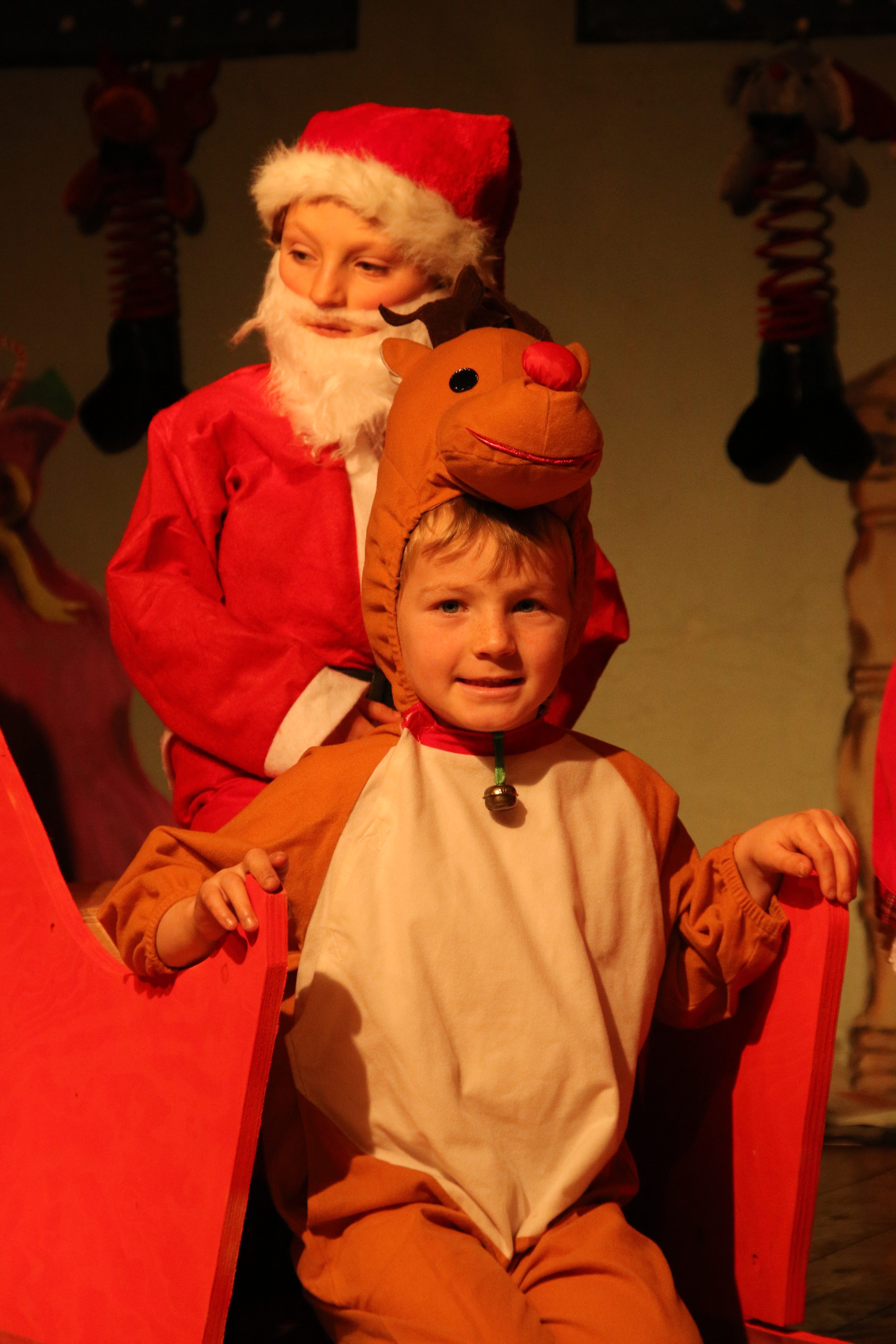 St Petroc's Santa's on Strike (65)