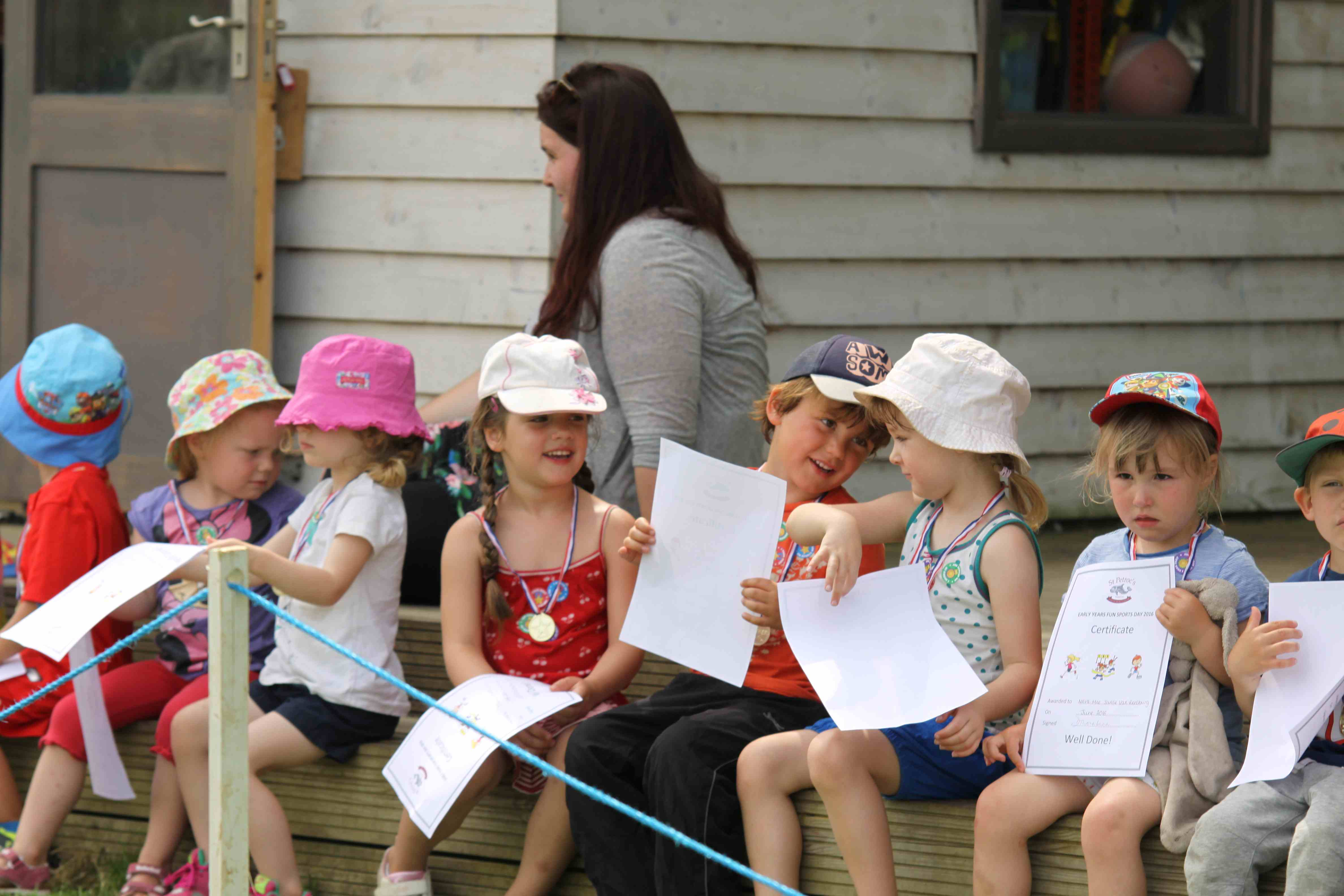 St Petroc's Early Years Sports Day