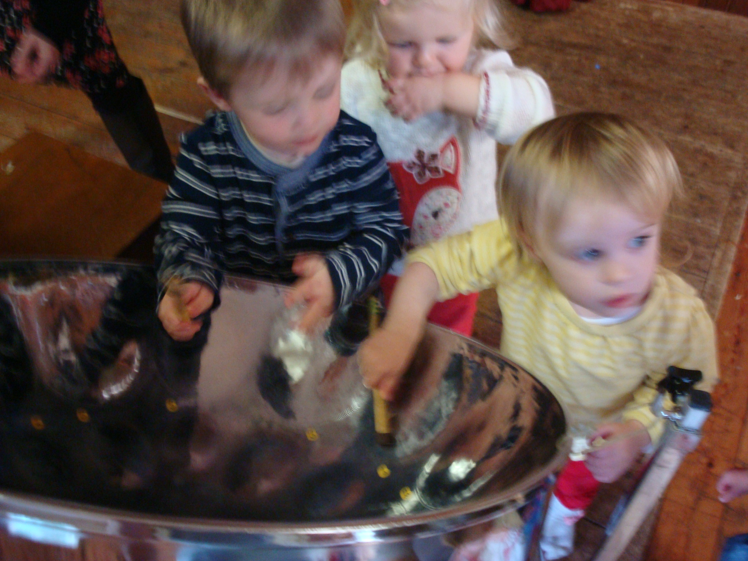 Steel Band visit the Early Years