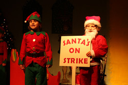 St Petroc's Santa's on Strike (21)