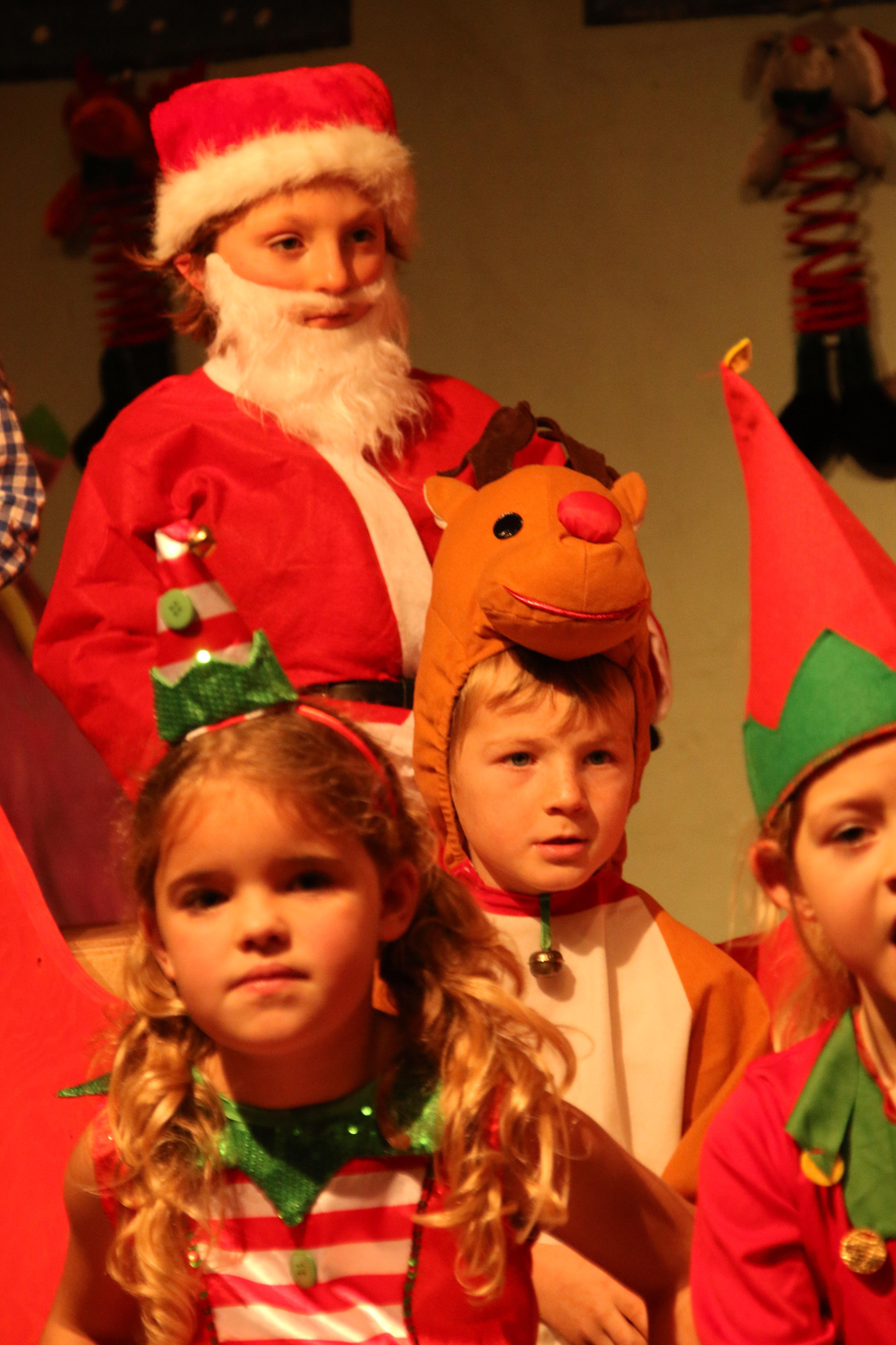 St Petroc's Santa's on Strike (75)