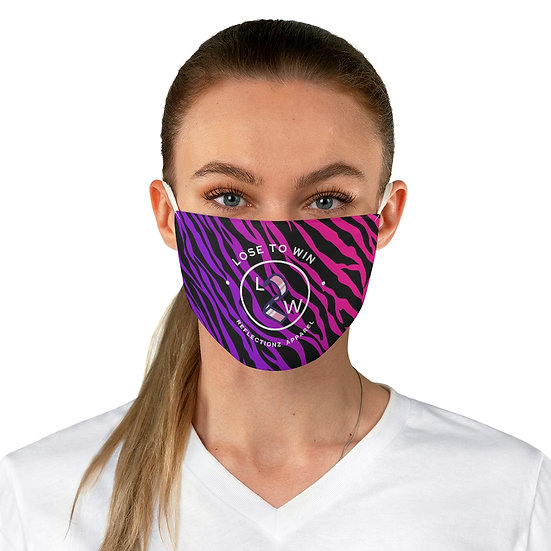 Colorful L2W Print  Fabric Face Mask