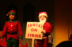 St Petroc's Santa's on Strike (20)