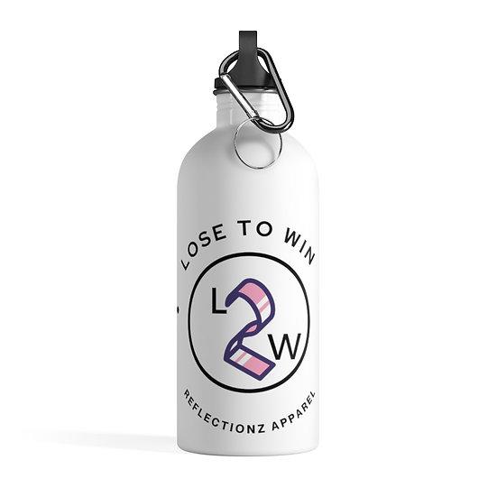 Lose 2 win Stainless Steel Water Bottle