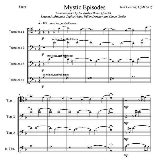 Mystic Episodes - Trombone Quartet