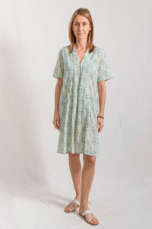 oma dress nandina green