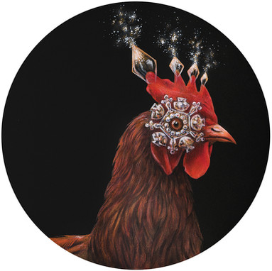 CHICKEN WITH DIAMOND EYE