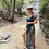 Thumbnail: Deep Teal colored macrame dress