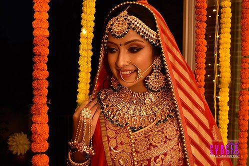 Stunning Kundan Bridal Set in Green