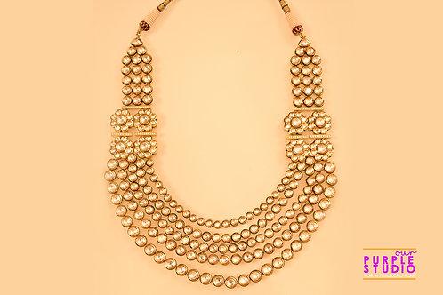 Vintage Kundan Necklace  Set